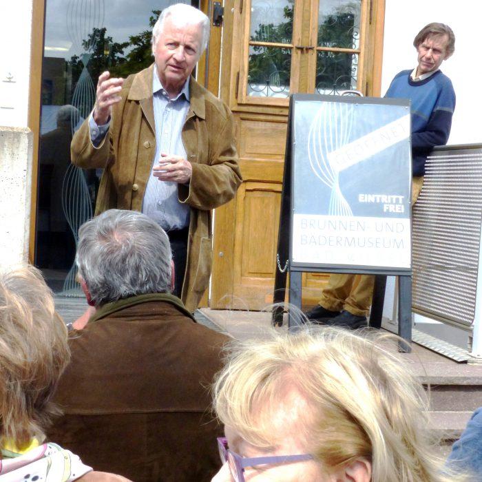 Öffentliche Führungen (Günter Hinkel am Brunnen-und Bädermuseum)