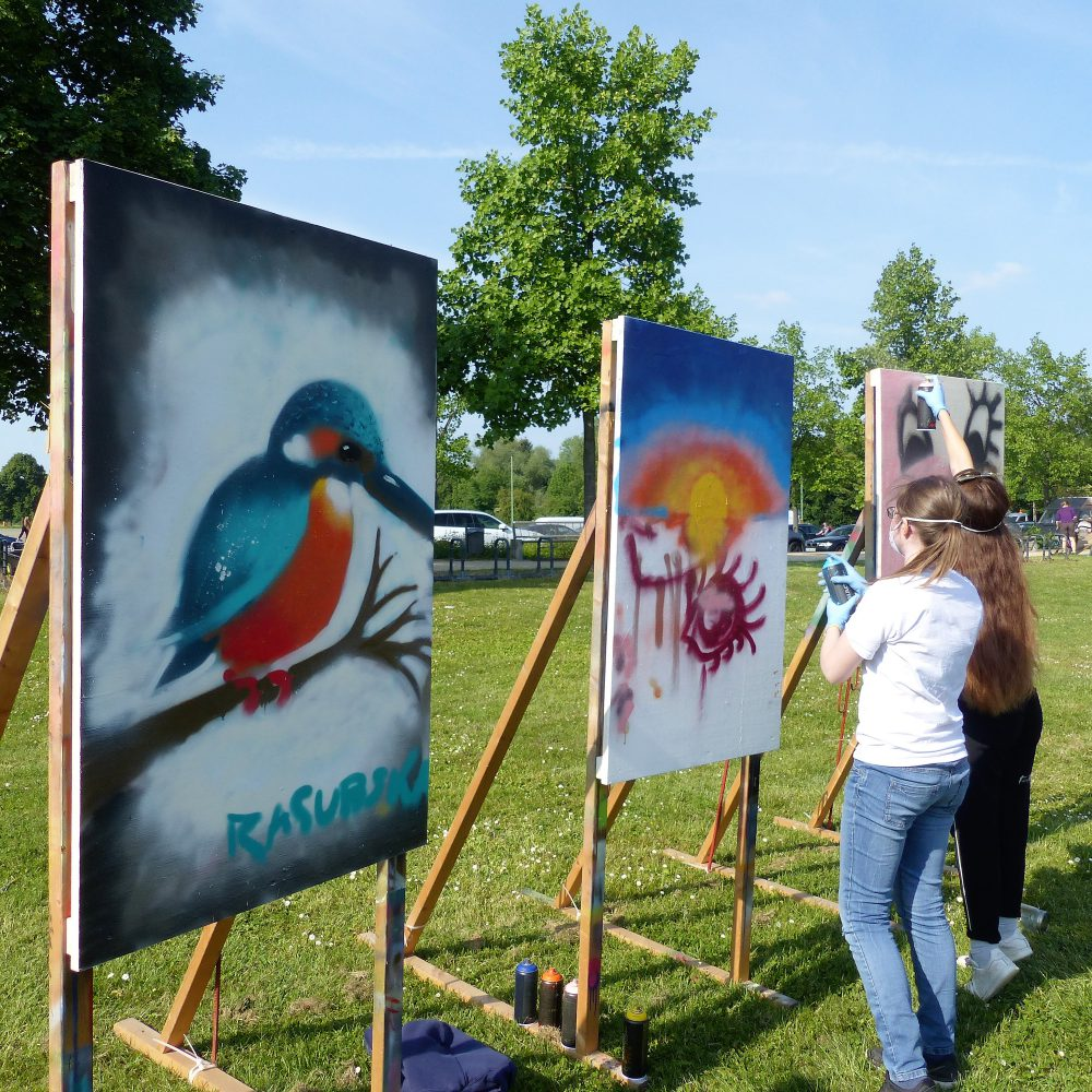 Graffiti Workshop zum Quellenfest